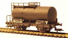 Fleischmann 5033 H0, 2-Achser Kesselwagen schwarz, DB 573 781, Ep. III, KKK, MDM