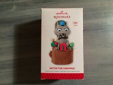 HALLMARK 2013 NUTTIN FOR CHRISTMAS MAGIC KEEPSAKE ORNAMENT NEW MINT