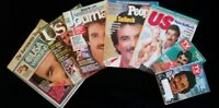 Paper Memorabilia, Tom Selleck , Vintage, Set of 7, c. 1980s