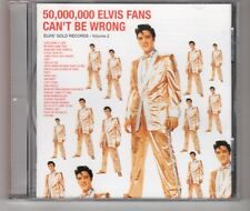 (HH484) 50,000,000 Elvis Fans Can't Be Wrong - 1997 CD