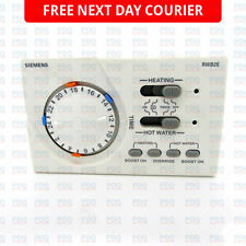 SIEMENS TWO CHANNEL PROGRAMMER 1 HOUR BOOST RWB2E - BRAND NEW FREE NEXT DAY P&P
