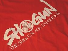 *NWT* SHOGUN AGE EXHIBITION MENS ORANGE COTTON TSHIRT XLARGE J174