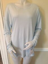 NWT Liz Claiborne XL Women's Blouse Weekend Comfort  Long Sleeve Tee Top Msrp$34