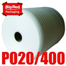 400mm x 100m 2mm Thick Polyfoam Foam Wrap Roll AWESOME