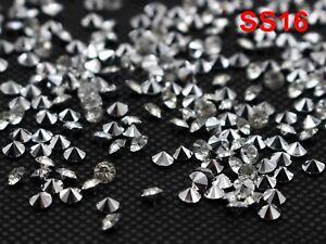 14400pcs Shiny Clear Acrylic Silver Point back Rhinestone Confetti SS6-SS16