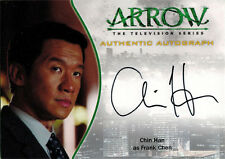 Arrow Season One Autograph Card A17 Chin Han as Frank Chen