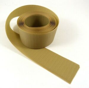 """10 Feet Velcro® Hook (only) 2"""" Wide Beige 200, Home Office Cord Hold-Down Cover"""