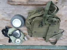 WWII, Korean Era U.S. Gas Mask W/ Canister & Bag - Lower Price!
