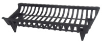30 in. cast iron grate | fireplace pleasant hearth new ghp black floor coated