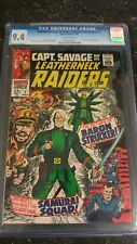 CAPTAIN SAVAGE AND HIS LEATHERNECK RAIDERS #2 CGC 9.4 N/MINT 1968 DICKER AYERS