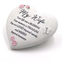 My Wife Remembrance Heart Graveside Memorial Ornament 62585