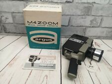 Argus M4 Zoom 8mm Movie Camera, boxed with inst, untested, spares or repair
