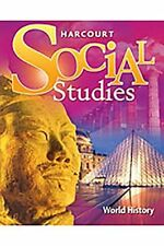 Harcourt Social Studies: Student Edition World History 2007 by HARCOURT SCHOO…