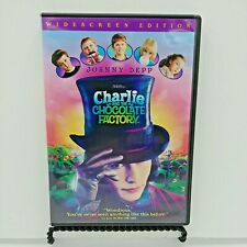 Charlie and the Chocolate Factory (Dvd, 2005, Widescreen) Johnny Depp.
