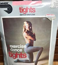 """PINK Exercise Dance Ballet TIGHTS LADIES Size 5'-5'4"""""""
