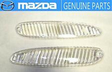 MAZDA GENUINE OEM RX-7 FD3S Front Turn Signal Light Lamp Lens set JDM Corner