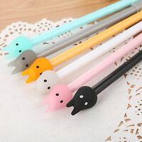 8Pcs Lovely Cute Cartoon colorful Totoro Gel ink Pens Office School Stationery