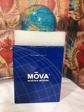 """4.5"""" blue with political map  globe WITH OUT STAND see The Picture"""