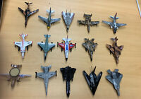 Lot Of 15 Die-Cast Military Jets, Planes, Aircraft
