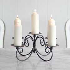 Antique Style Five Pillar Candle Holder Display Candelabra by Dibor