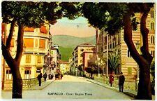 Cartolina Formato Piccolo - Rapallo - Corso Regina Elena Non Viaggiata (Usur