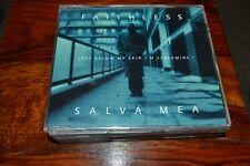 FAITHLESS     SALVA MEA       CD SINGLE  .   VG CON.   1996