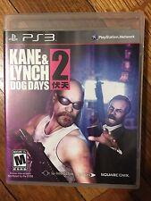 Kane & Lynch 2: Dog Days  (Sony PlayStation 3 2010) Complete