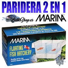 PARIDERA ACUARIO FLOTANTE MARINA 2 EN 1 SEPARADOR PARA CRIAS PARIDERAS ACUARIO
