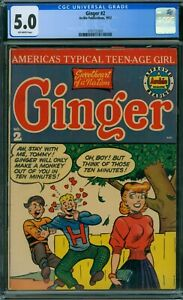Ginger 2 CGC 5.0 - OW Pages