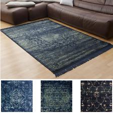 Orientteppich Vintage Teppich Luxus Blau Vintageteppich Wohnzimmer Modern Design