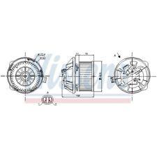 Innenraumgebläse Lüftermotor Heizung NEU NISSENS (87065)