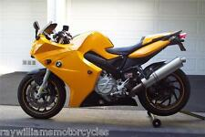 BMW F800S F800ST 05 - 12 YELLOW BELLY PAN SPOILER LOWER SIDE FAIRINGS 245000E