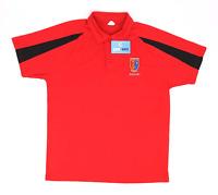 Awdis Red Mens Chester Squash Polo Shirt Size L