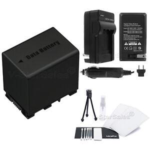 BN-VG138 Battery + Charger for JVC GZ-EX210 EX215 EX250 EX310 EX355 EX515