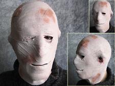 Latexmaske UNFALL MUMIE - Horror Effekt Gummi Bandagenmumie Blut Latex Maske