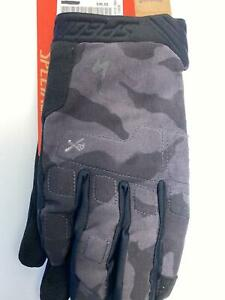 new Specialized Body Geometry RIDGE mens bicycle Long Finger GLOVES Black Large