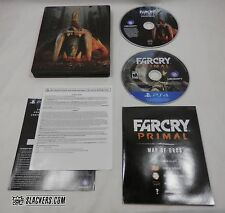 Far Cry PRIMAL Limited Ed STEELBOOK w/ Soundtrack CD + Map (PlayStation 4) PS4