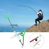 Portable Fishing Rods Tripod Bracket Stand Hold  Fishing Rod Sea/Coasting/  Top