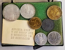 Austria 1965 7 Coin Proof Set