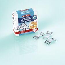 WUNDmed® 05-022 na-und® Klammern 20 Stück für Mullbinden / Bandagen