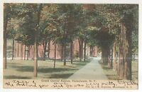 Grand Central Avenue HORSEHEADS NY Vintage New York Postcard