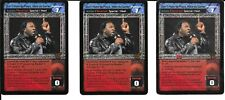 WWE RAW DEAL - 3X Don't Hate the Playa, Hate The Game *FREE SHIPPING* RARE