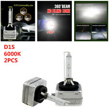 2PCS Stable D1S 6000K Xenon Bulbs Lamp Hid Car SUV Headlight Kit 12V 35W White