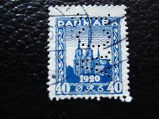 danimarca francobollo yvert e tellier n° 126 obliterati perforato A12 stamp