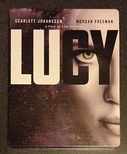 LUCY Blu-Ray DVD SteelBook Target Exclusive Ltd Ed. 2-Disc Set. Demo OOP & Rare!