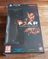 F.3.A.R. FEAR F.E.A.R. Édition Collector Jeu Sony Playstation 3 PS3 Neuf Blister