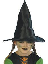 Noir Chapeau Sorcière Filles Accessoire Déguisement Halloween Enfants Accessoire
