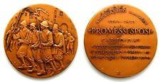 Medaglia Alessandro Manzoni – Promessi Sposi Capitolo XV Bronzo cm 5,5 Peso g 52