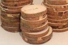 FICHTE Restposten Holzscheiben Astscheiben Baumscheiben Deko 40 St 6-10 cm