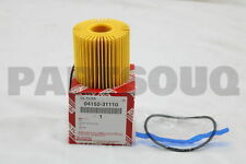 0415231110 Genuine Toyota ELEMENT KIT, OIL FILTER 04152-31110